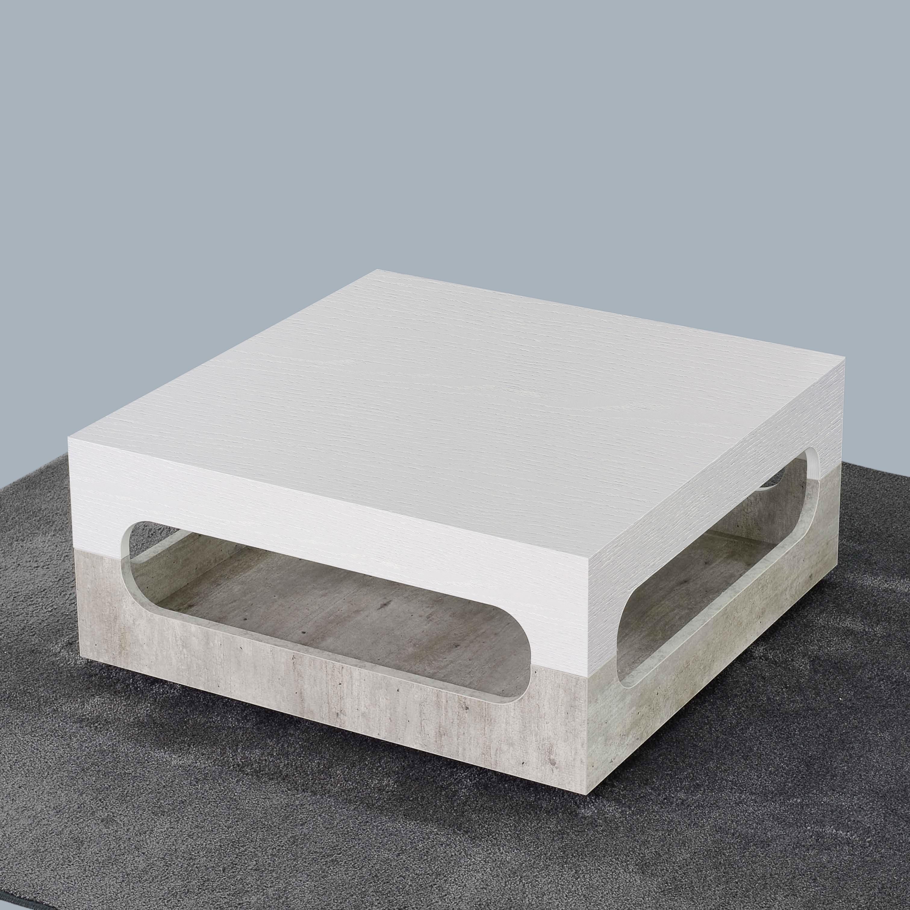 Doppio Gioco iCreo - Tavolino basso da salotto double face
