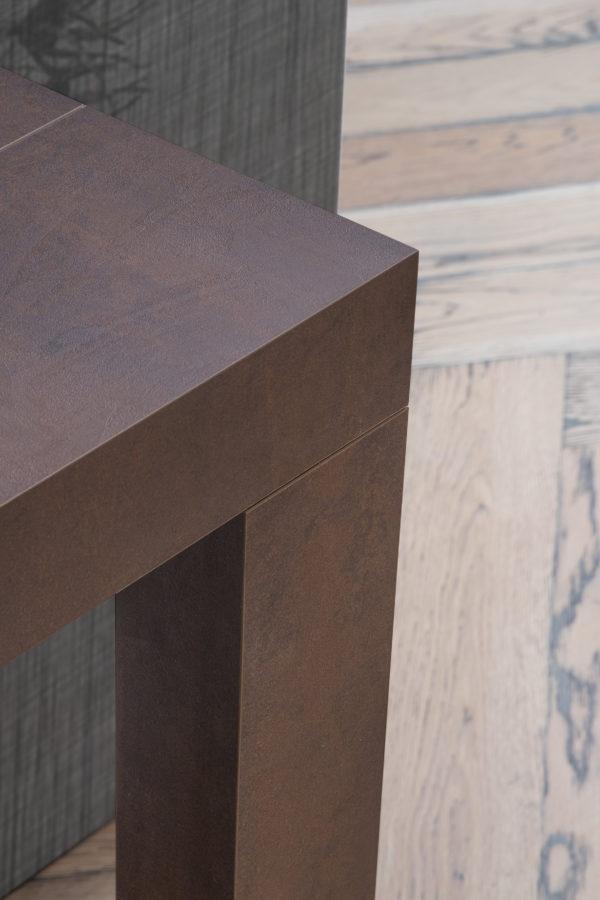 tavolo consolle allungabile atena acciaio