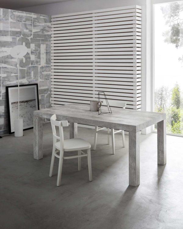 tavolo da cucina cemento