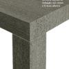 consolle-atena-grigio cenere+ testo