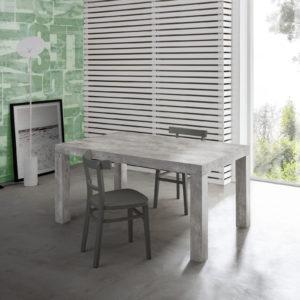 Tavolo allungabile moderno cemento